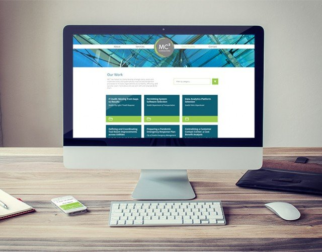 Responsive WordPress website development for marketing agency