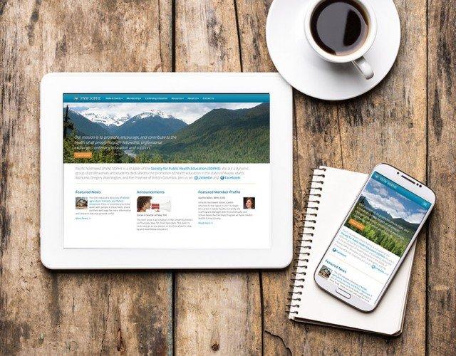 responsive web design WordPress Seattle - professional nonprofit group