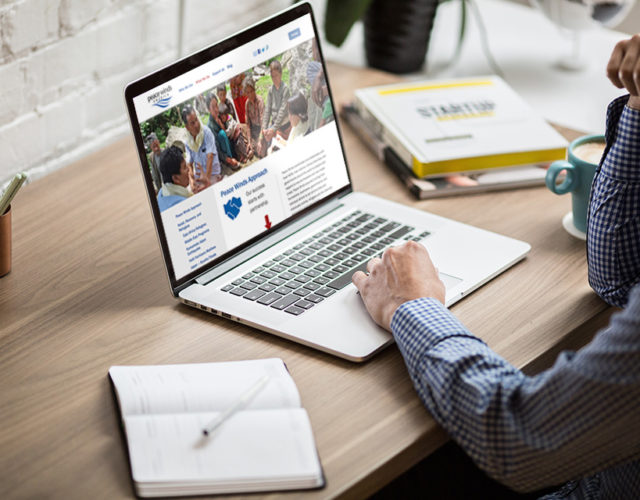 Nonprofit WordPress website design build
