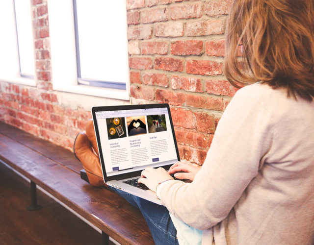 Therapist Counselor WordPress Design Build