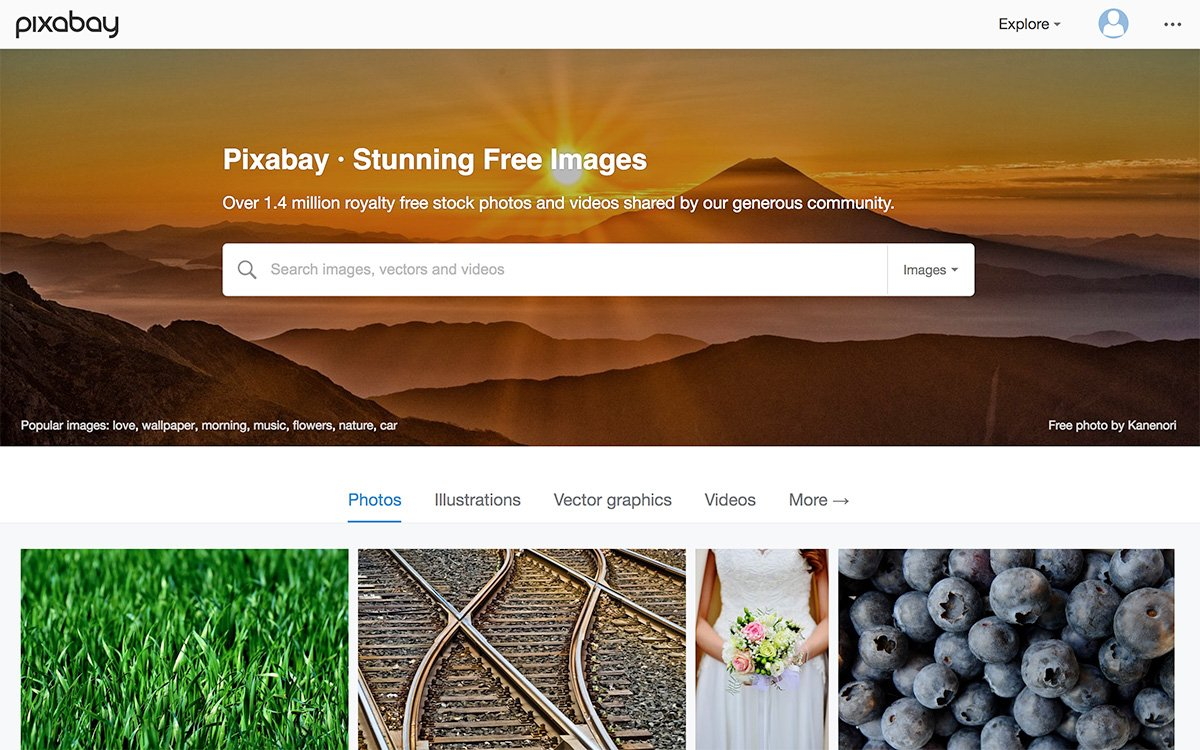 Pixabay: free stock photos resource